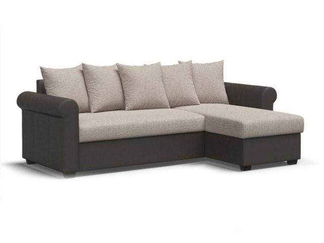 Угловой диван большого размера
