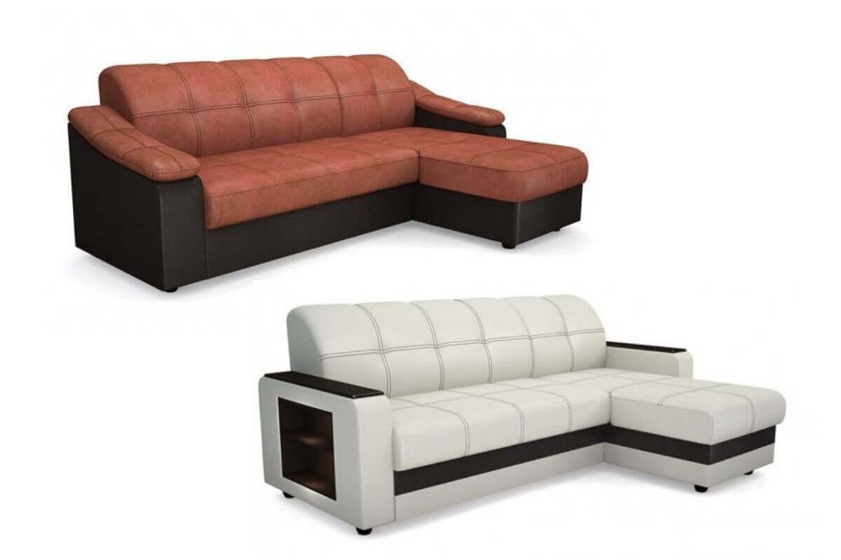 Угловые выкатные раскладные диваны