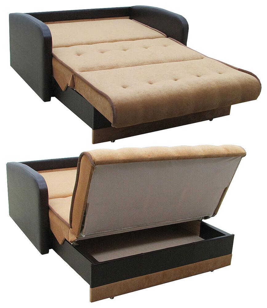 Раскладной диван аккордеон