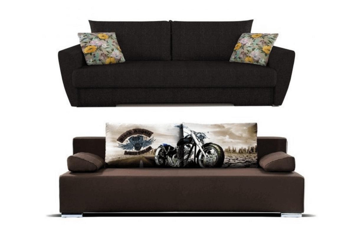 Раскладные диваны на пружинном блоке
