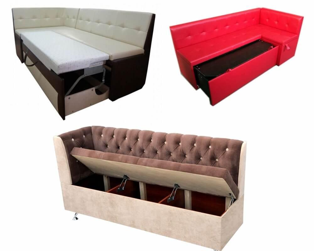 Раскладные диваны для кухни