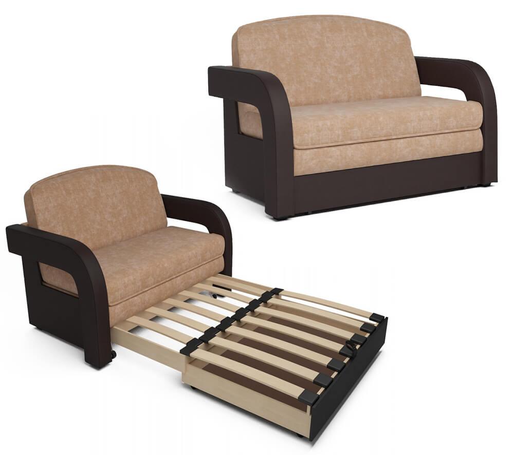 Выкатной диван с ортопедическим матрасом
