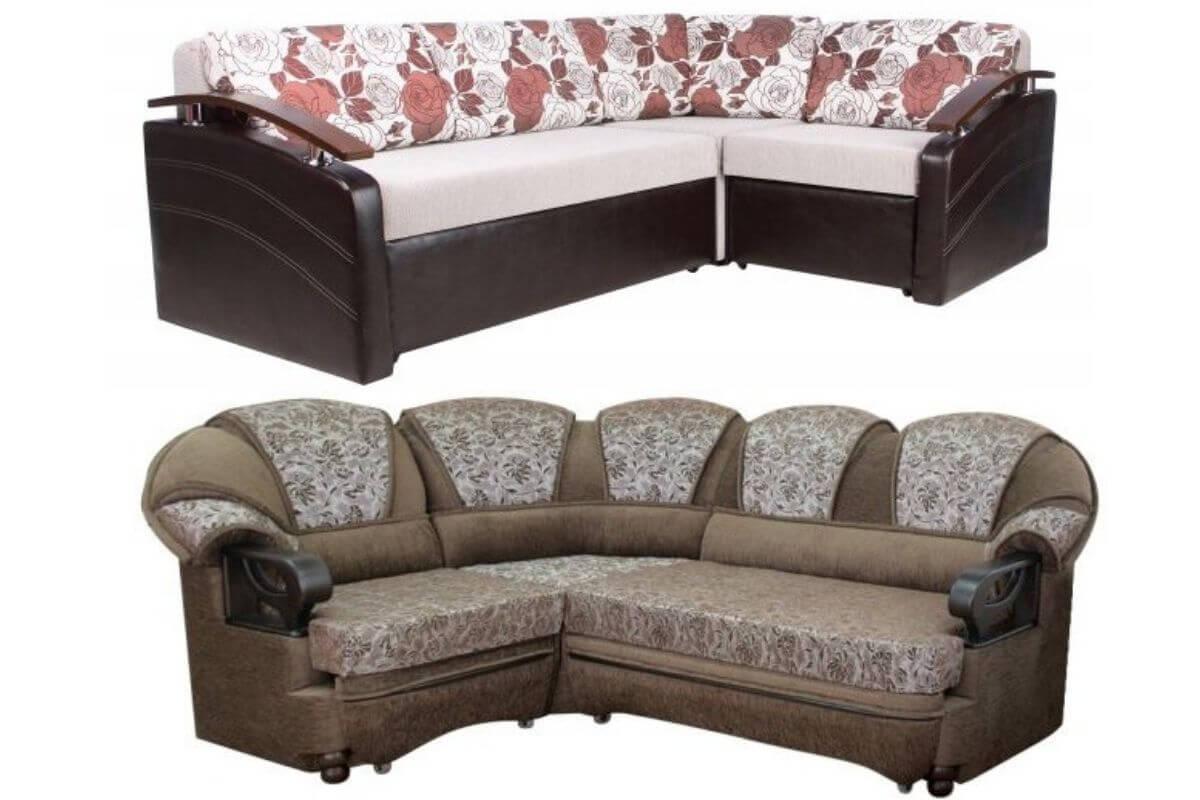 Угловой диван с наполнителем ппу