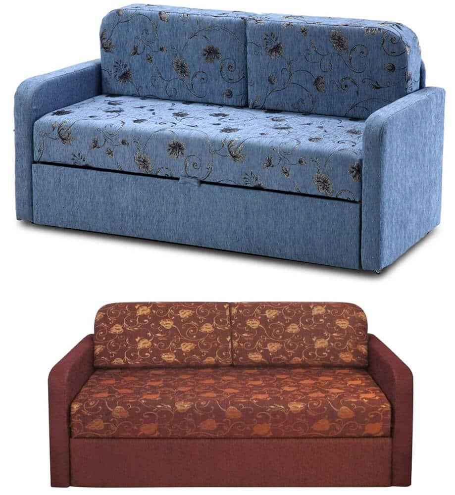 Выкатной диван с подлокотниками