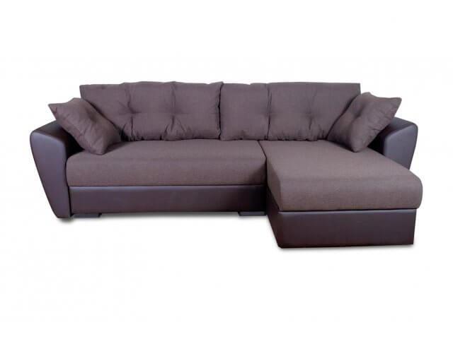 Угловой диван с пружинным блоком