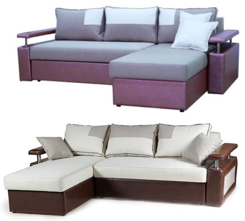 Угловой выкатной диван