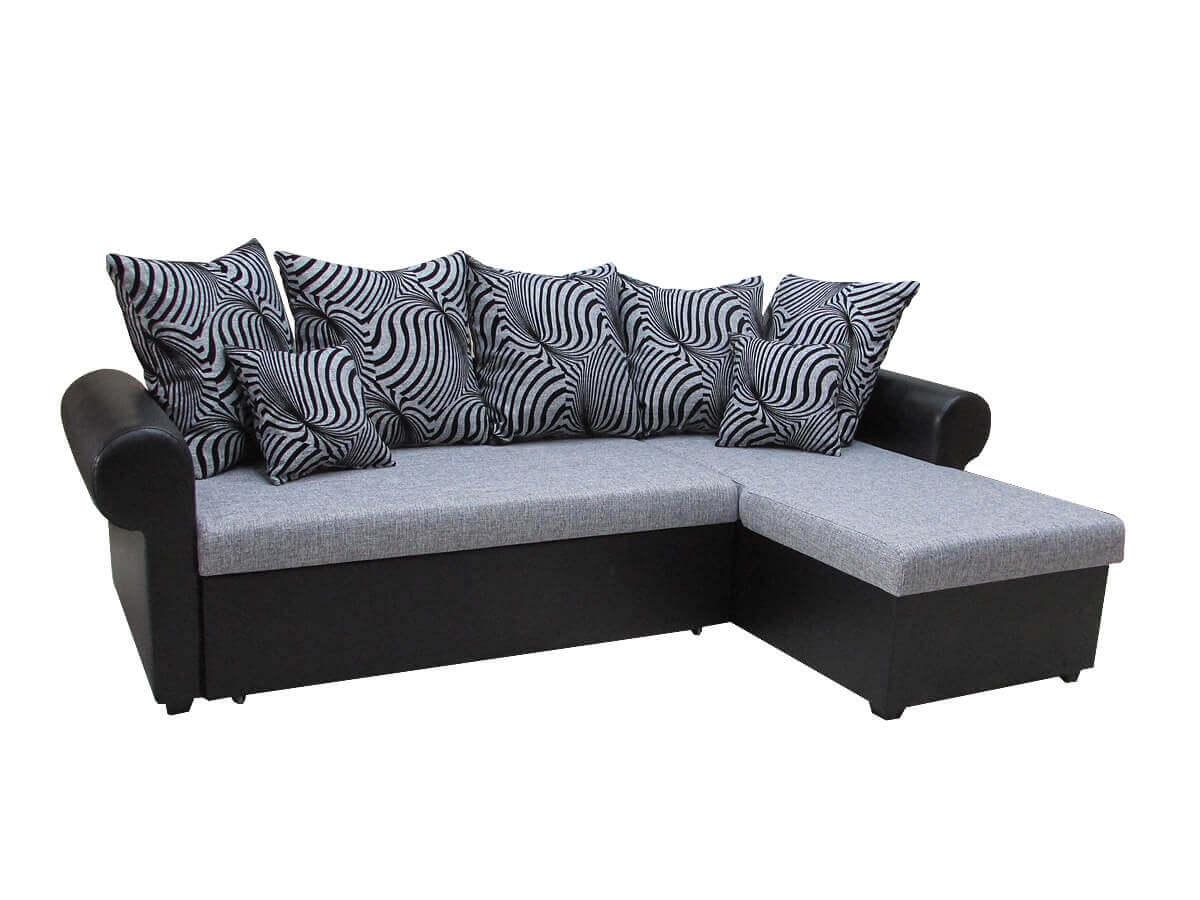 Угловой диван с ящиком
