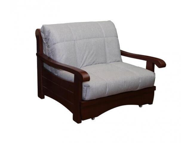 Светлое кресло-кровать