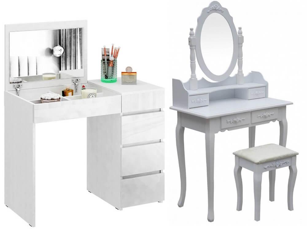 Туалетные столики белые