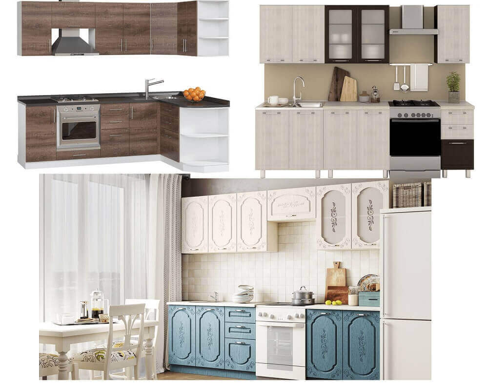 Стили кухонных гарнитуров