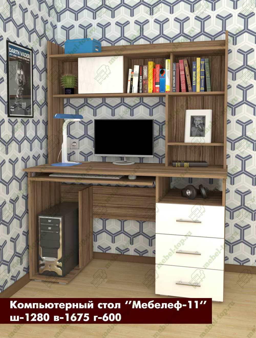 Стол для компьютера Мебелеф 15689457 от mebel-top.ru