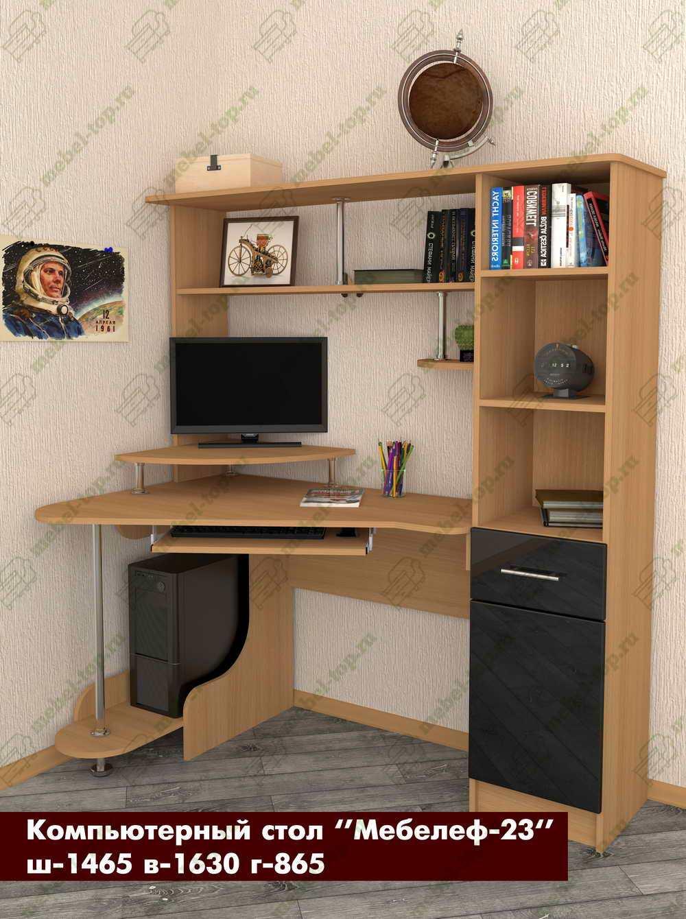 Стол для компьютера Мебелеф 15689462 от mebel-top.ru