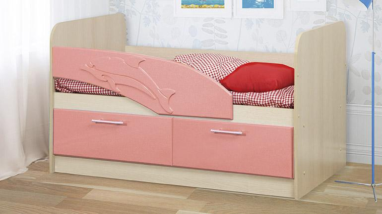 Детская кровать Дельфин-1 — Детская кровать Дельфин 1400