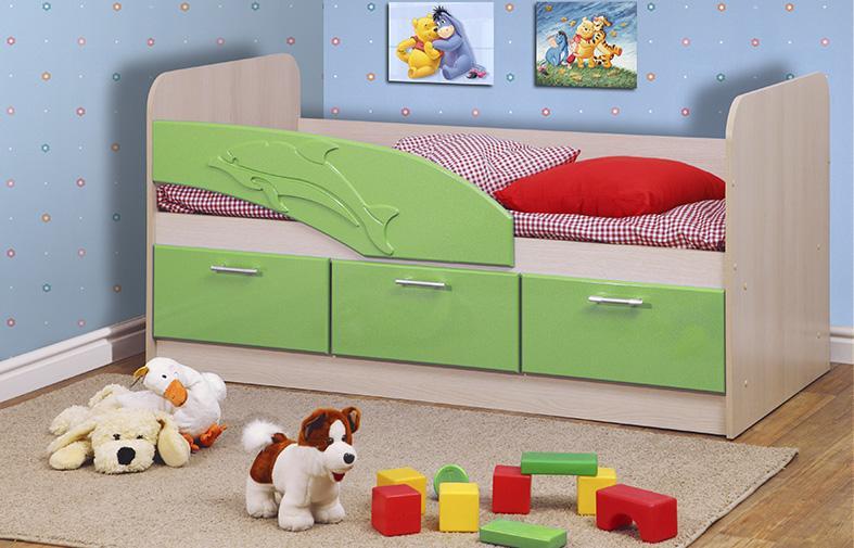 Детская кровать Дельфин — Детская кровать Дельфин 1600