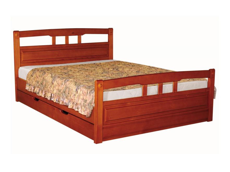 Деревянная кровать Флирт-1
