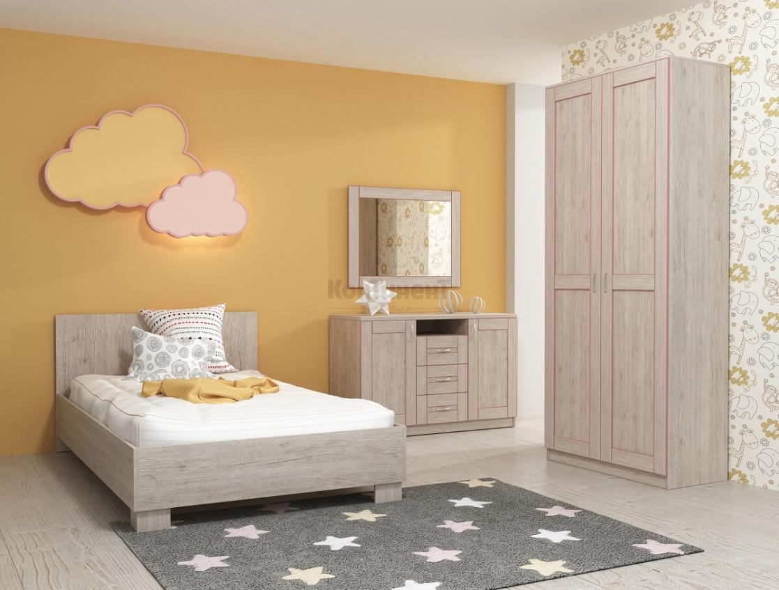 Детская спальня Радуга-4 фото