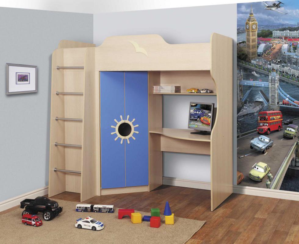 Детская двухъярусная кровать-Д2 — Детская двухъярусная кровать - Д2 (Б)