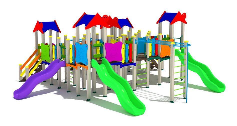 Игровая площадка ДГС-10 фото