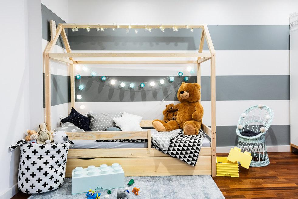 Детская кроватка Домик Фиеста