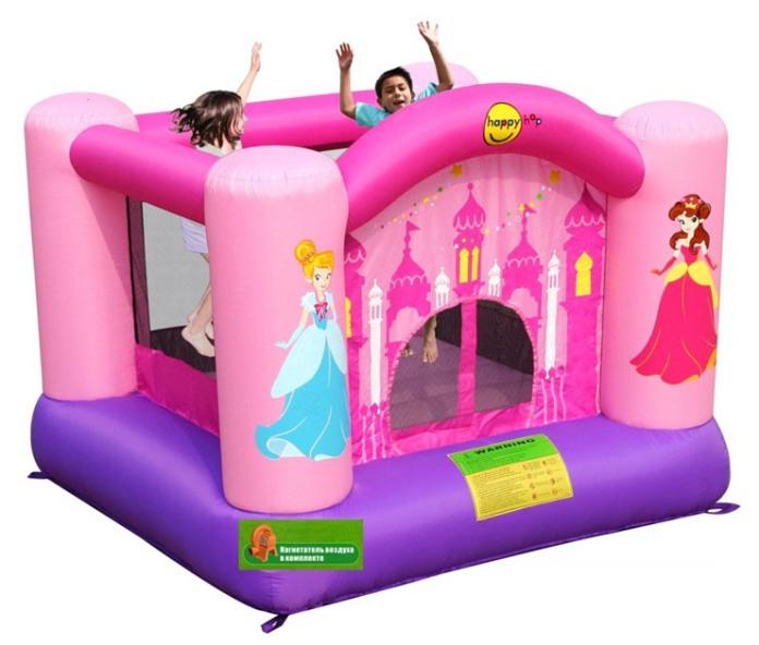 Надувной батут Принцессы 9001Р Happy Hop