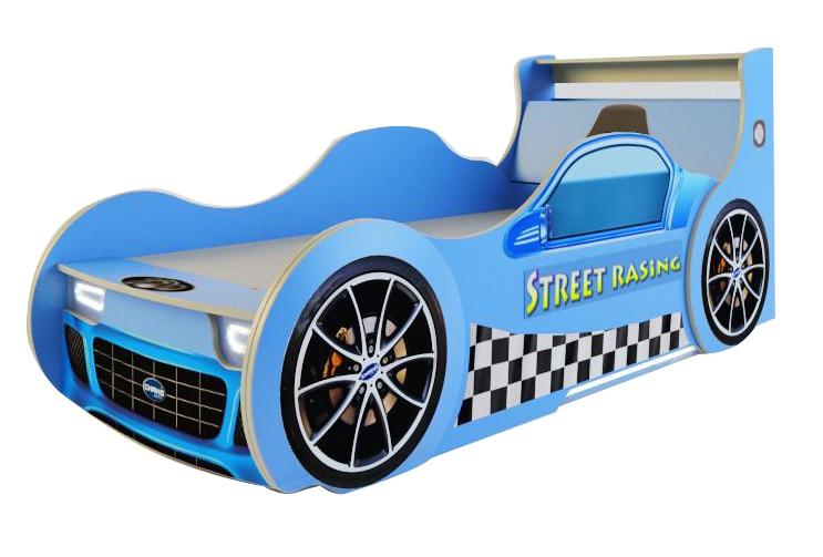 Детская кровать машина ПитСтоп — Кровать ПитСтоп