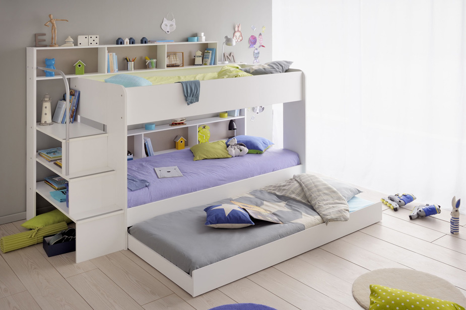 Детская двухъярусная кровать Антошка фото