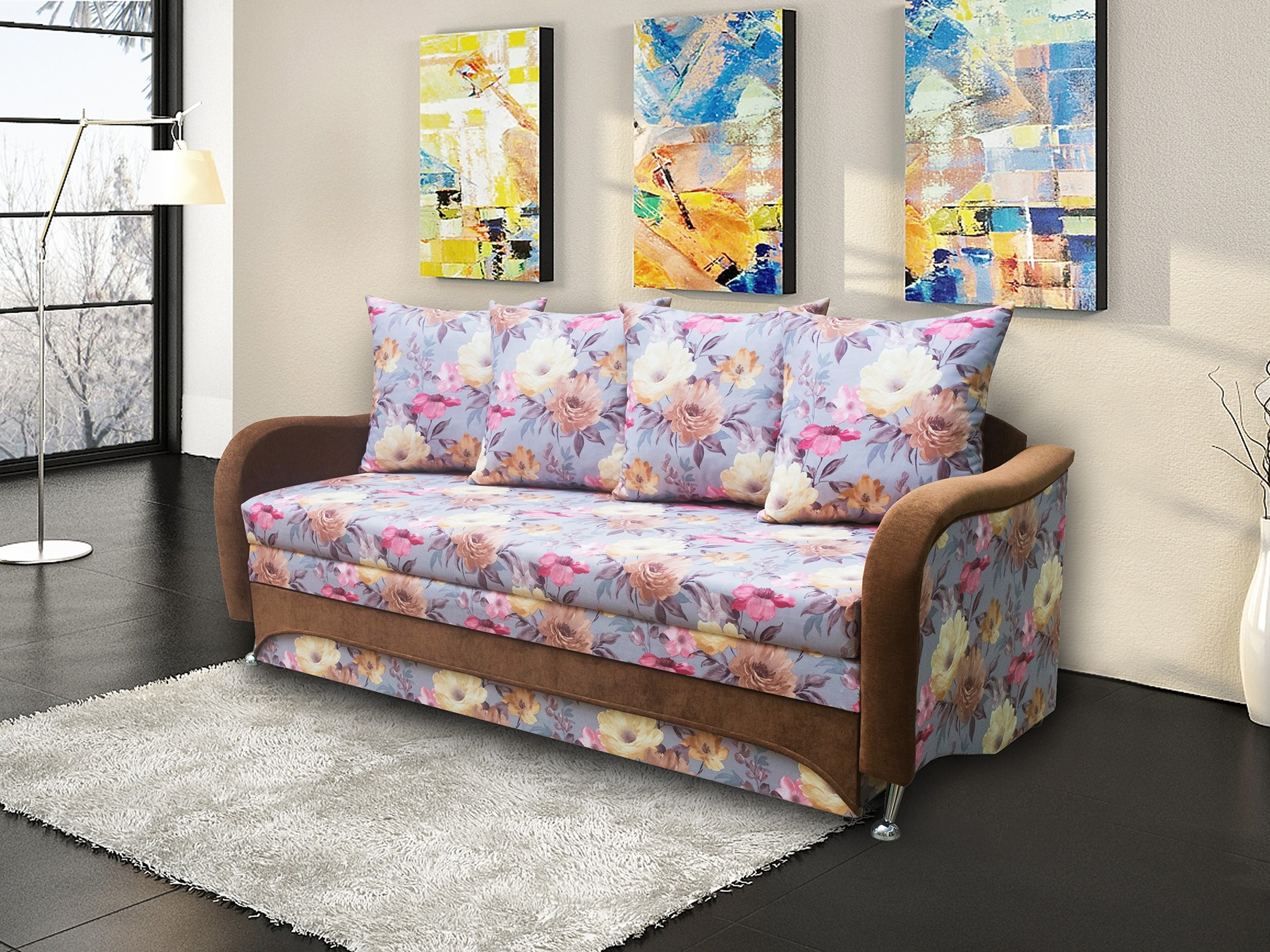 Выкатной диван Сонтана