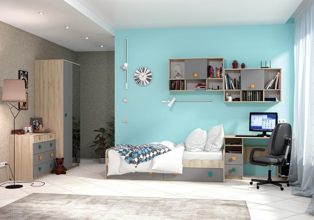 Детская модульная комната Доминика 2