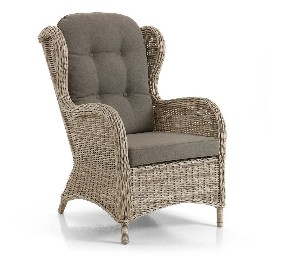 Плетеное кресло Evita beige