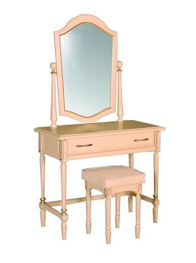 Столик туалетный №10 Афродита — Столик туалетный (с табуретом) №10 Афродита