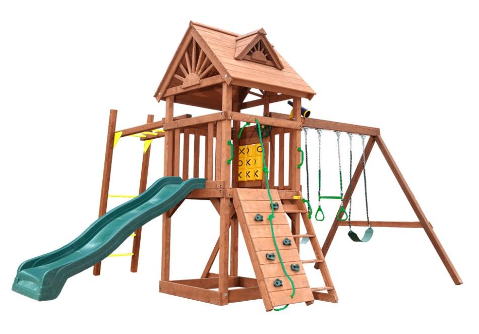 Деревянная площадка для детей High Peak II Playgarden фото
