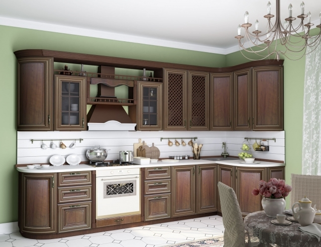 Любимый дом Кухонный гарнитур Кантри фото
