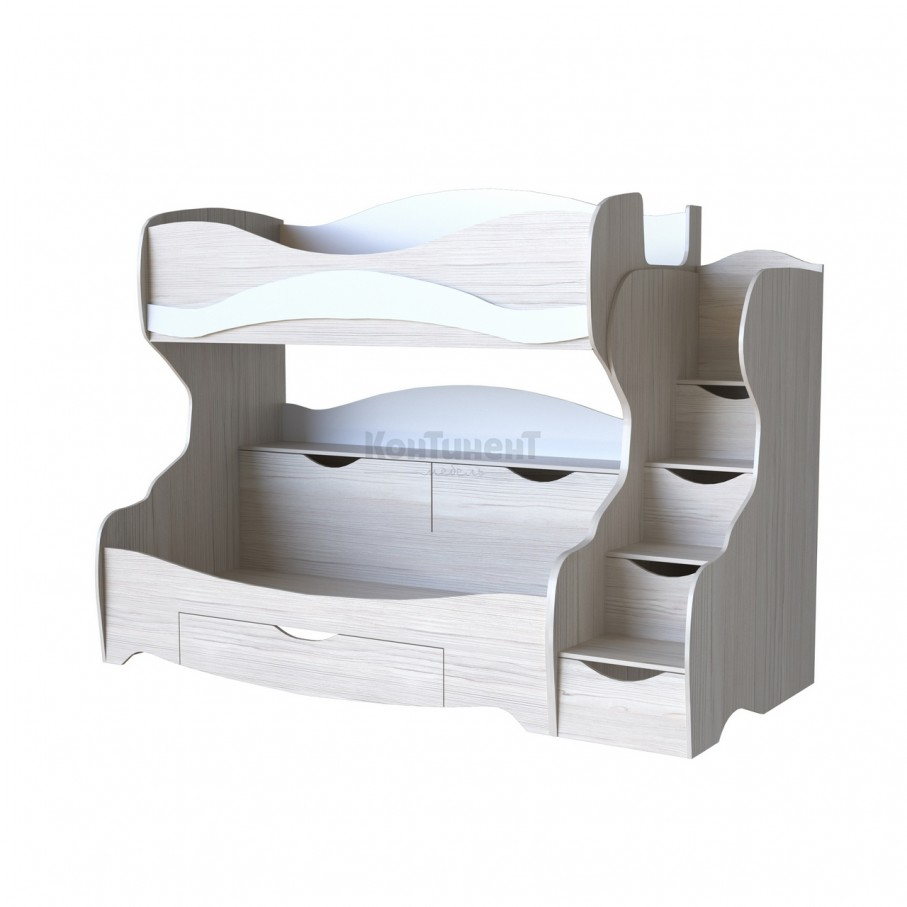 Двухъярусная кровать Карамель КА-03 Л/П