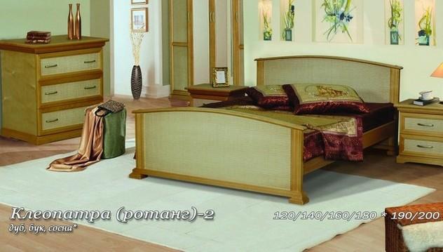 Кровать Клеопатра-2 ротанг