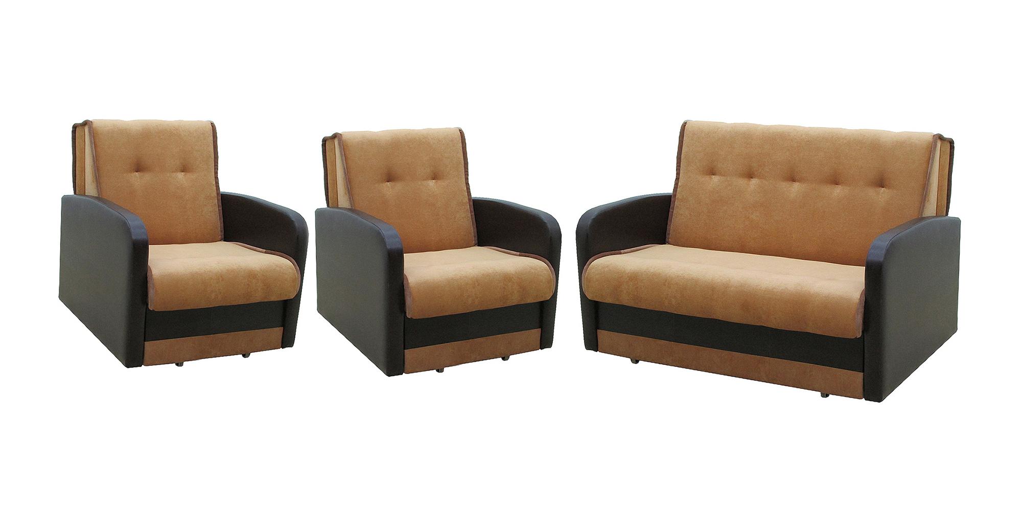 Комплект мягкой мебели Аккорд