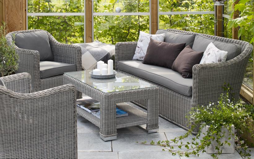 Комплект плетеной мебели Amira