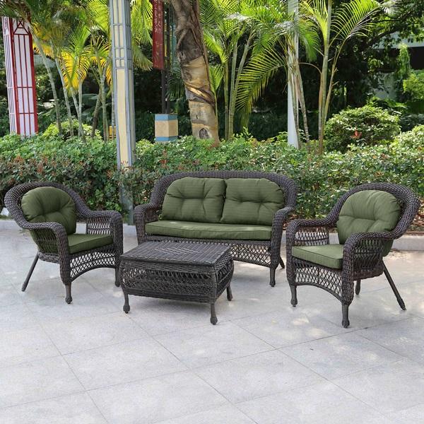 Комплект мебели из искусственного ротанга 2+1+1 LV520А фото