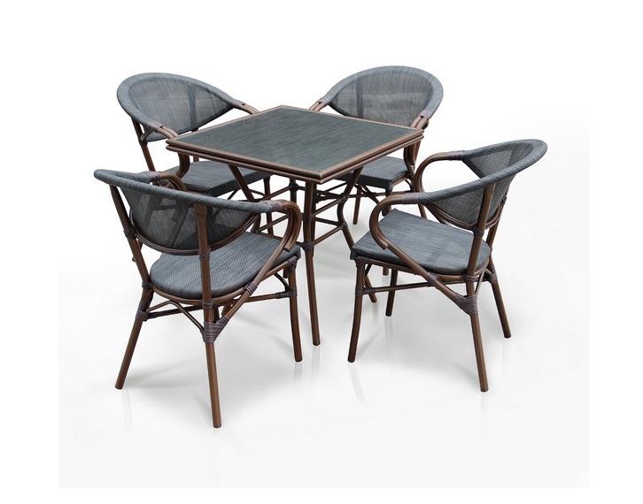 Комплект мебели из искусственного ротанга 4+1 А1016- D2003S фото
