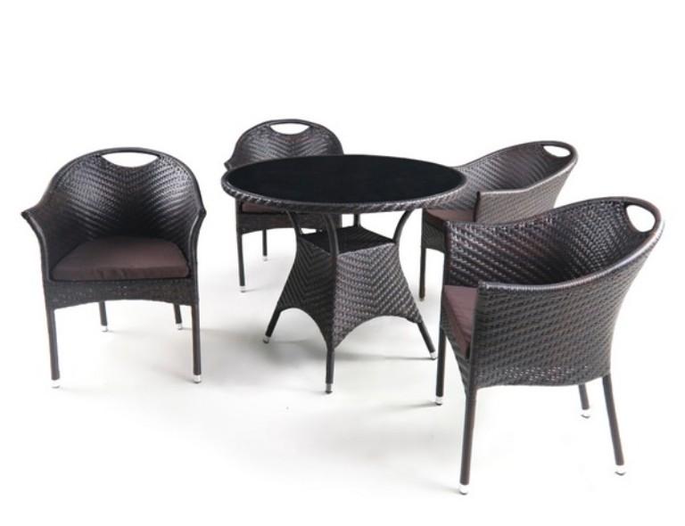 Комплект садовой мебели 4+1 T190B-1 Y-197B фото