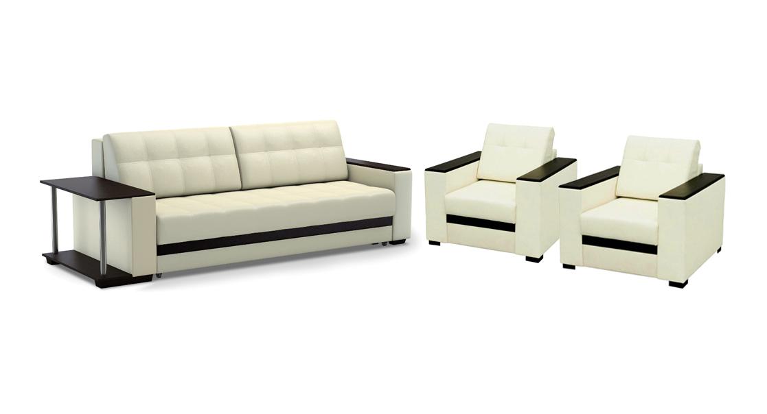 Комплект мягкой мебели Атланта со столом
