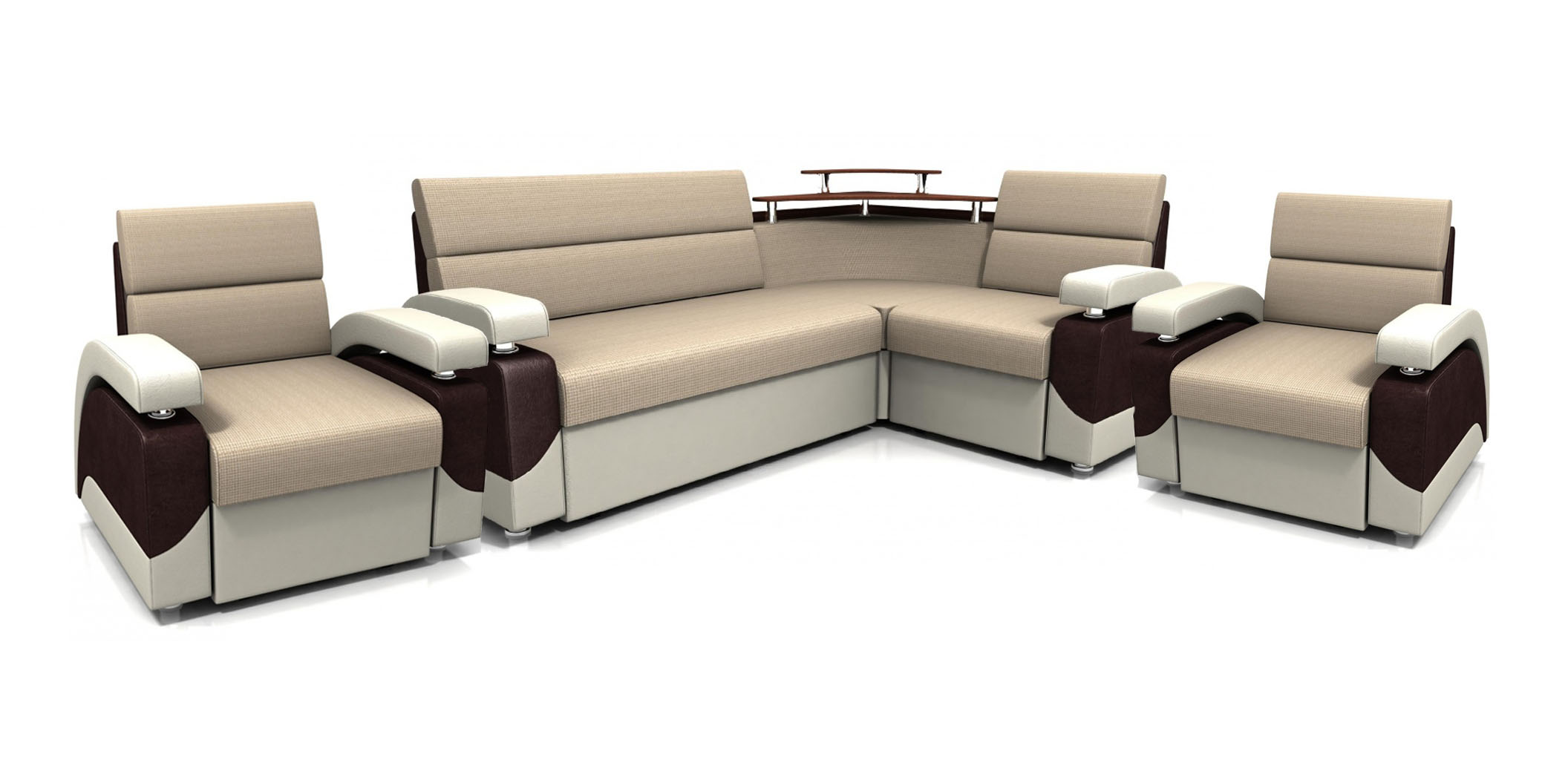 Комплект мягкой мебели Бродвей