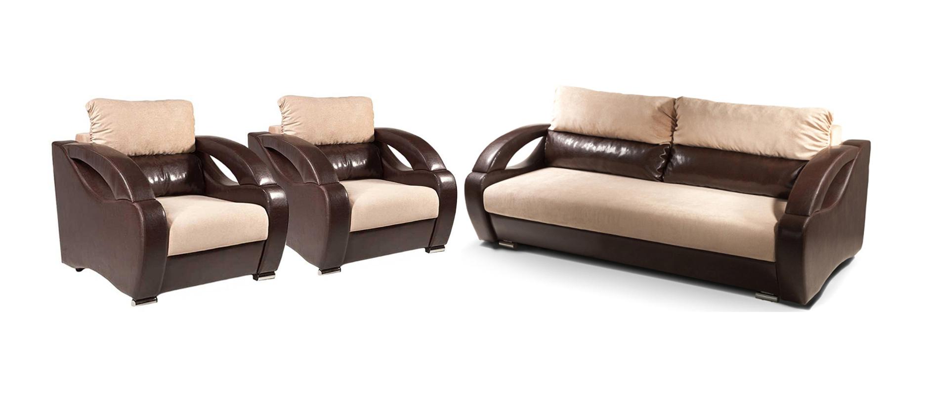 Комплект мягкой мебели Ласка