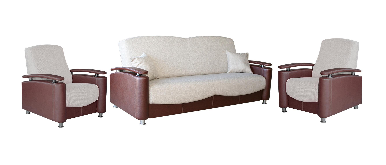 Комплект мягкой мебели Рондо фото