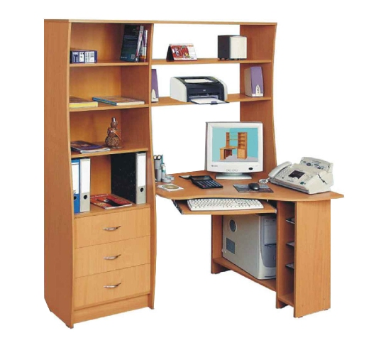 Стол для компьютера Mebelus 15680431 от mebel-top.ru