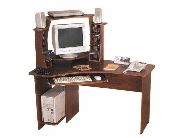 Компьютерный стол КС-14-1+КН-2 фото