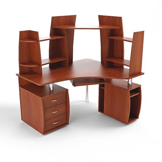 Компьютерный стол с надставками ПС 04.41.F