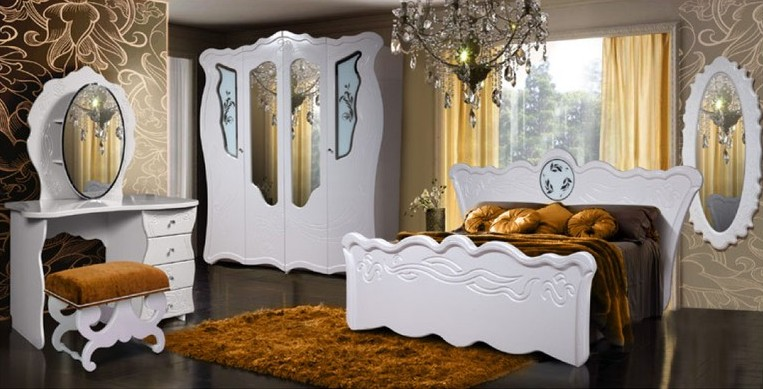 Спальня Королева Комплектация №1 — Спальня Королева