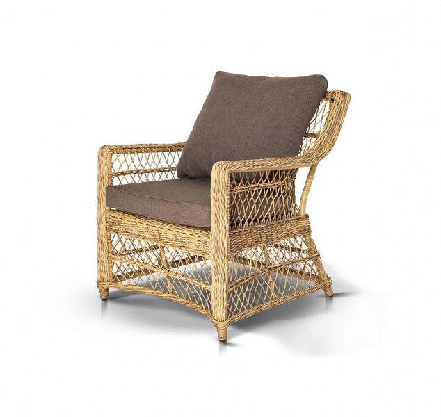 Кресло из искусственный ротанг Гранд Латте — Кресло из искусственный ротанг ГРАНД Латте