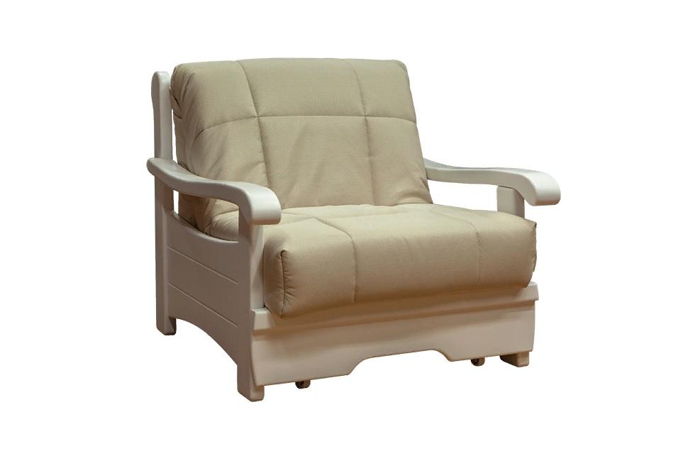 Кресло-кровать Рея с деревянными подлокотниками м112 — Кресло-кровать Рея