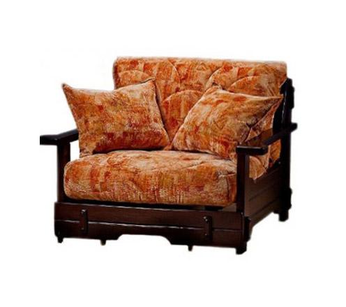 Кресло-кровать Япет с деревянными подлокотниками